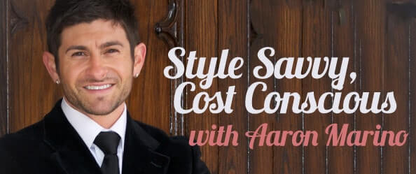 Aaron Marino Fashion Tips