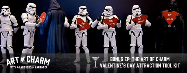Quit spending Valentine's Day alone! We discuss getting a Valentine.