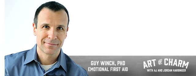 Guy Winch, PhD is a psychologist and the author of Emotional First Aid. Today he shares what emotional first aid is and how to be emotionally well.