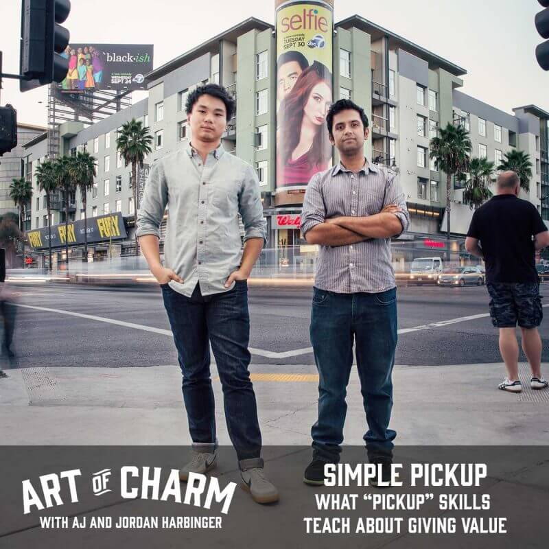 Jesse and Kong of Simple Pickup tell us why their brand is different, how their skills apply to everyday life and more on this episode of The Art of Charm.