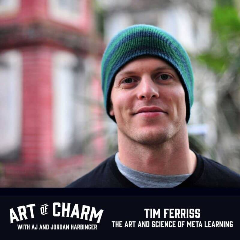 Tim Ferriss discusses meta-learning, his take on goals and risk, how he selects his teachers and what skills to master. Superhuman results served here.