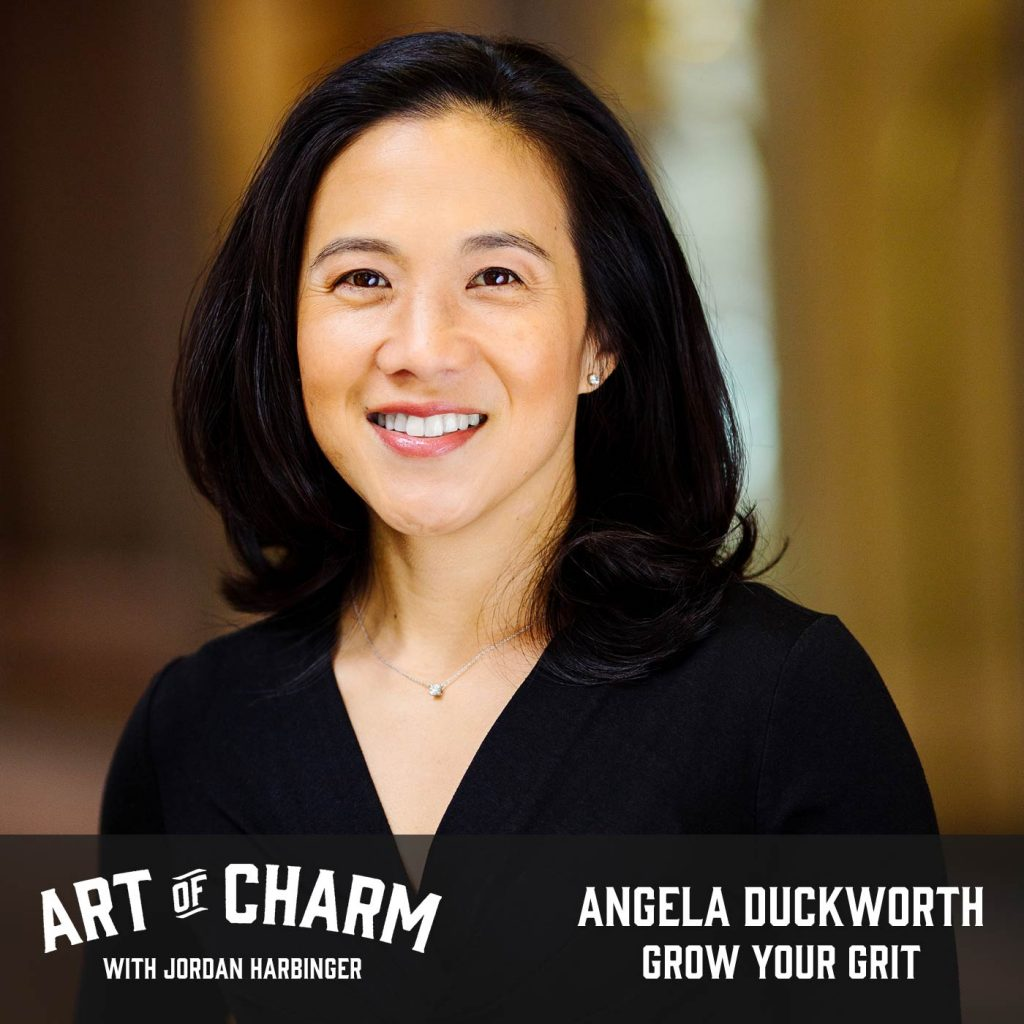 Angela Duckworth | Grow Your Grit (Episode 526)