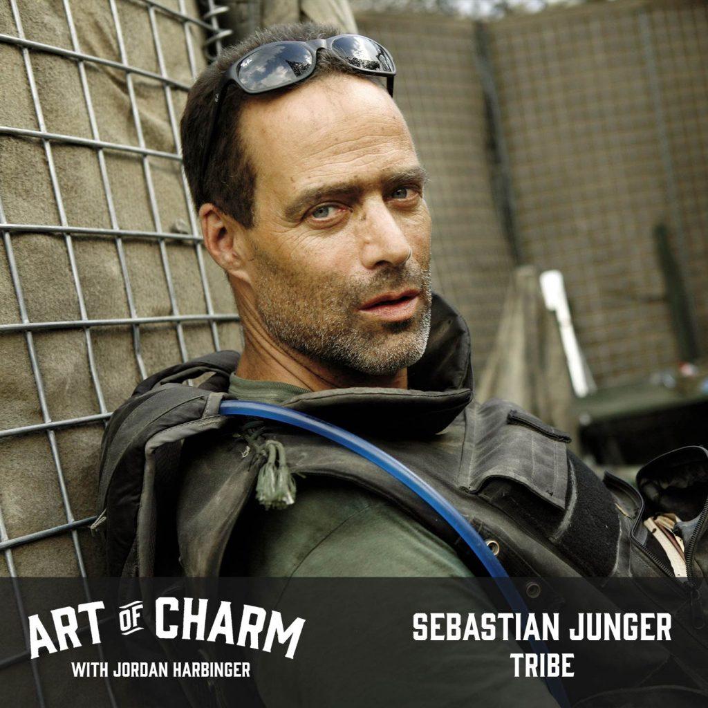 Sebastian Junger | Tribe (Episode 537)