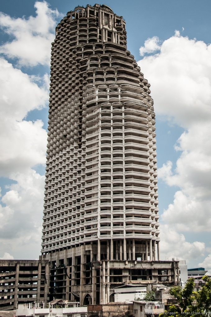 The Ghost Tower of Bangkok